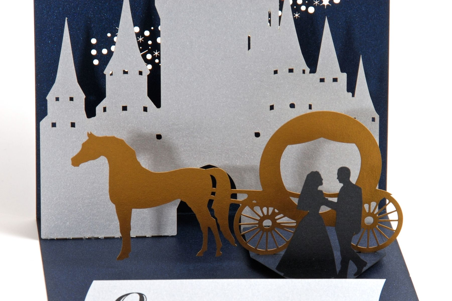 Handmade Fairy Tale Pop-Up Wedding Invitation by Artifacture ...