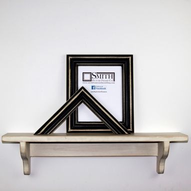 Custom Made Custom Black Picture Frames - 4x6 5x7 8x10 11x14 And Custom Sizes
