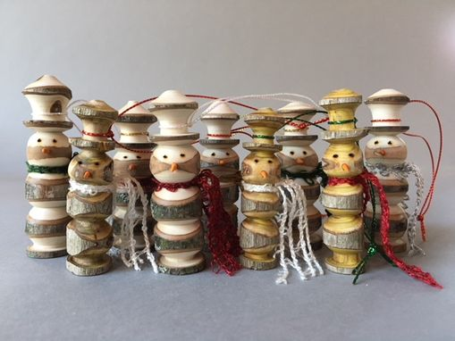 Custom Made Rustic Snowmen