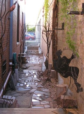Custom Made Art Gallery Outdoor Art Courtyard