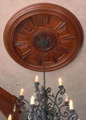 Custom Made 12' Diameter Ceiling Medallion