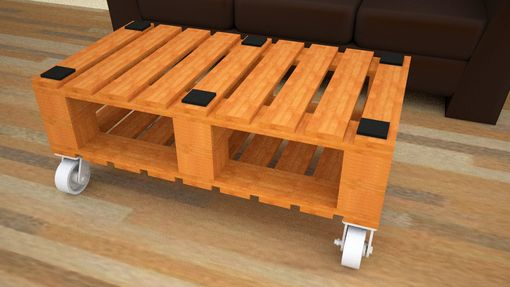 Custom Made Mobile 1x2 Coffee Table