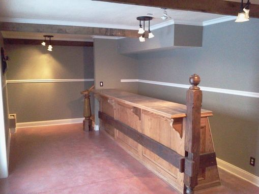 Custom Made Wine Tasting Bar
