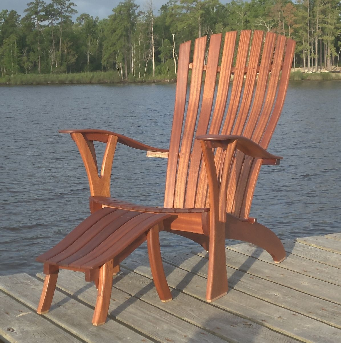 Custom Comfy Rondack Adirondack Chair By Michael Brown