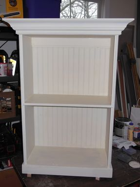 Custom Made Hanging Decorative Bookcase