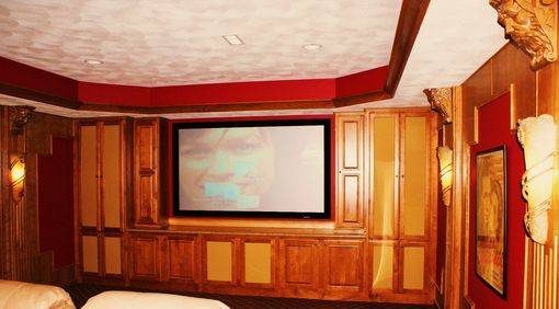 Custom Made Home Movie Theater
