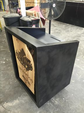 Custom Made #24 Custom Gunmetal Hostess Stand