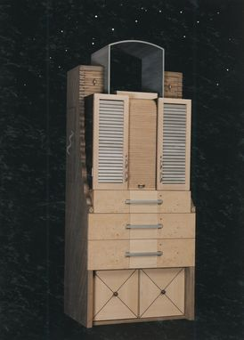 Custom Made Skyscraper Cabinet