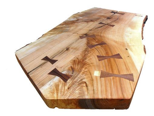 Custom Made Five Sided Ambrosia Maple Live Edge Table