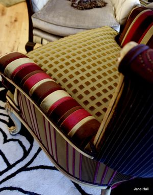 Custom Made Upholstered Vintage Arm Chair