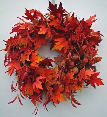 Custom Made Fall Wreath