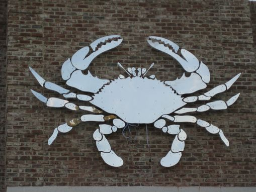 Custom Made 16' Crab Sculpture