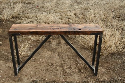 Custom Made Plank Top Table