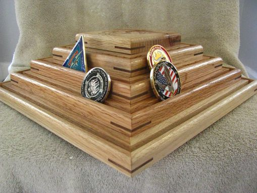 Custom Made Military Challenge Coin Display