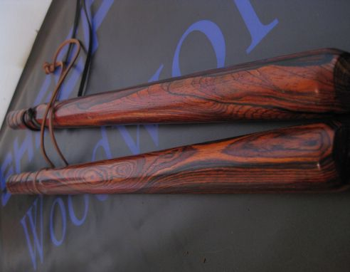 Custom Made Cocobolo Baton