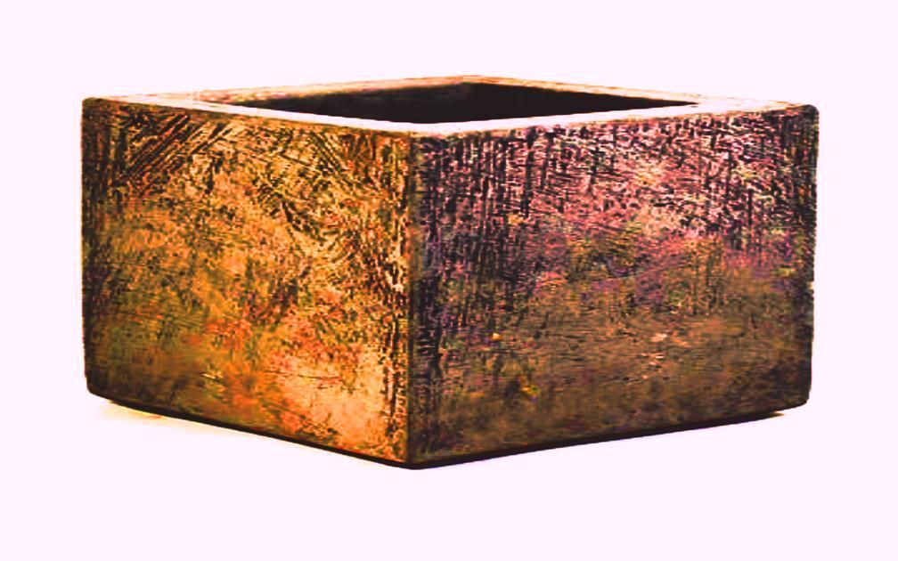 Custom Rustic Wood Planter Box Distressed Wood Planters By Rustic