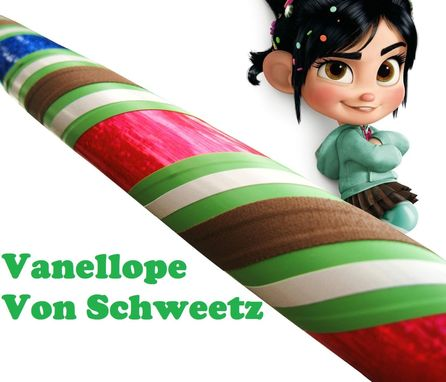 Custom Made Vanellope Von Schweetz Hula Hoop - Weighted Collapsible Travel Hula Hoop