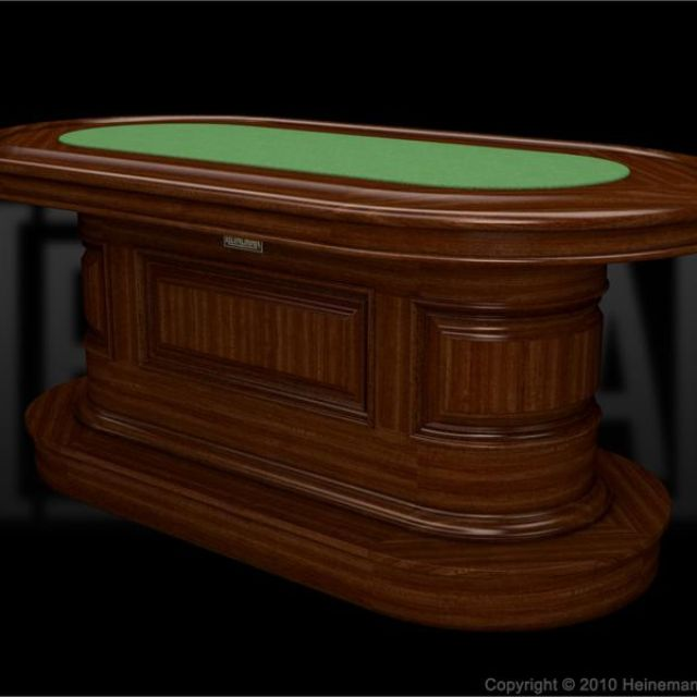 Hand crafted solid wood custom poker table by heineman bar company hand crafted solid wood custom poker table by heineman bar company custommade watchthetrailerfo