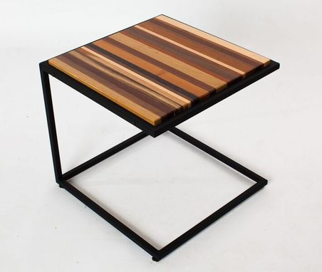 Custom Made Modern End Table
