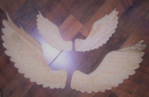 Custom Made Ready To Finish - Angel Wings