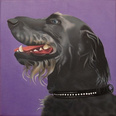 Custom Made Original Jason M Silverman Animal Portrait Paintings In Oil & Watercolor