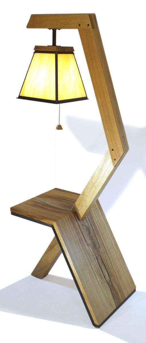 Custom floor lamp table by aaron smith woodworker custommade floor lamp table aloadofball Gallery