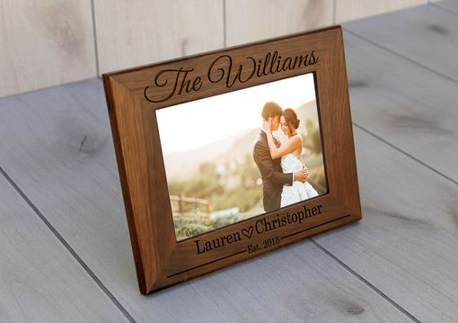 Custom Made Custom Engraved Picture Frames -- Pf-Wal-Williams