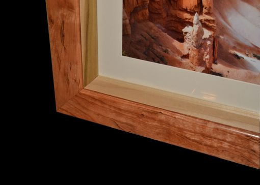 Custom Made Wood Picture Frame Handmade