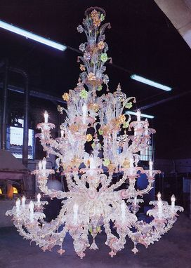 Custom Made Murano Made Venetian Chandeliers