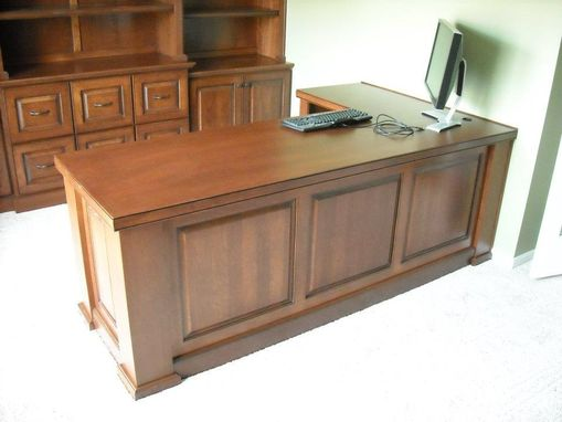 Custom Made Cherry Study/Office/Library/Bookcase