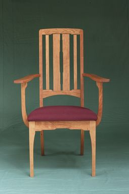 Custom Made Burt Street Cherry Dining Chair