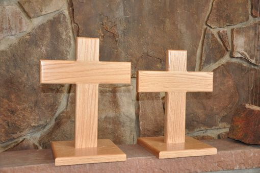 "Custom Made Small (9"") Table Top Crosses"