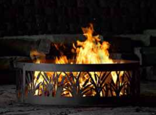 Custom Made Decorative Custom Fire Pit Ring