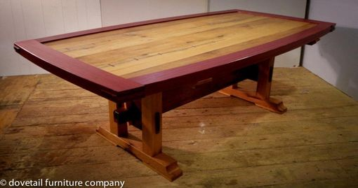 Custom Made White Oak Poker Table