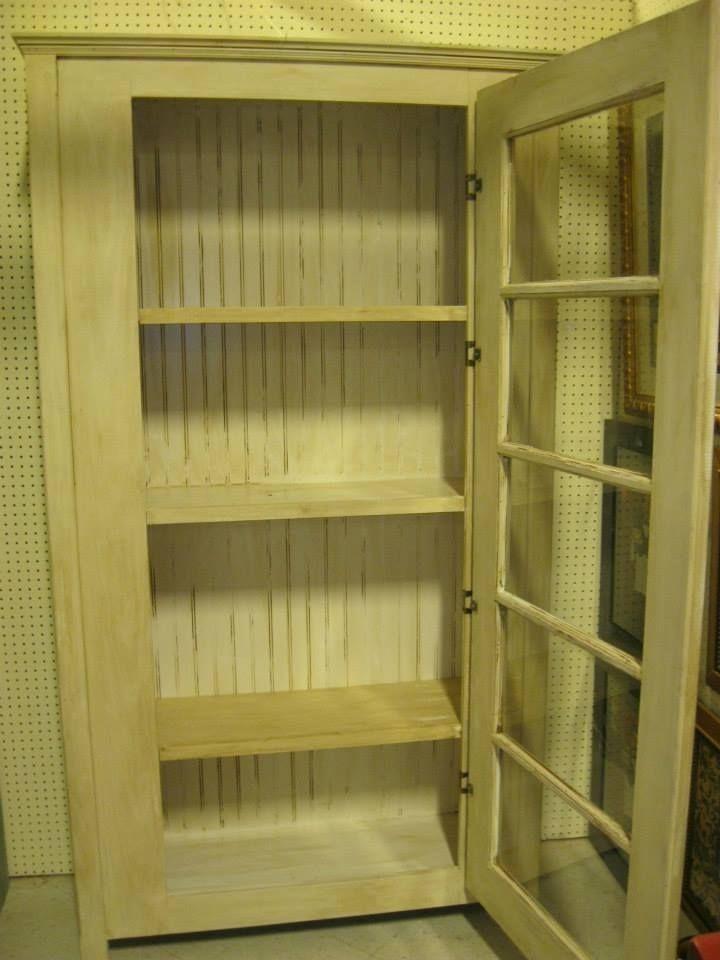 Custom Old Door Display Cabinet By Nashwood Furniture Designs