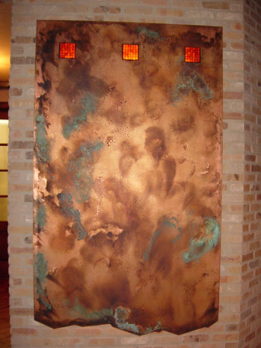 Handmade Copper Wall Artwork By Ck Valenti Designs Inc