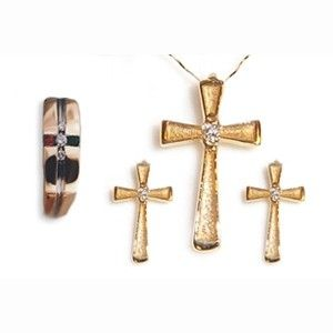 Custom Made Custom Ring Into Memorial Crosses
