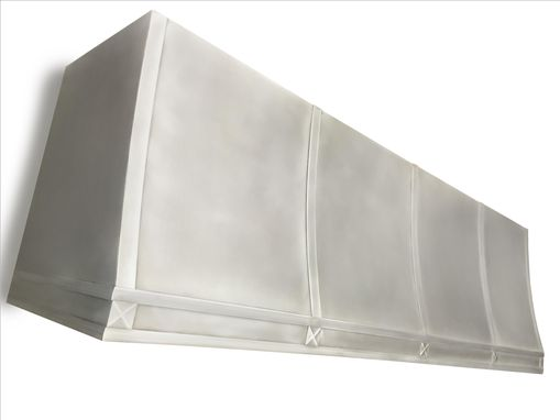 Custom Made #15 Custom Zinc Range Hood