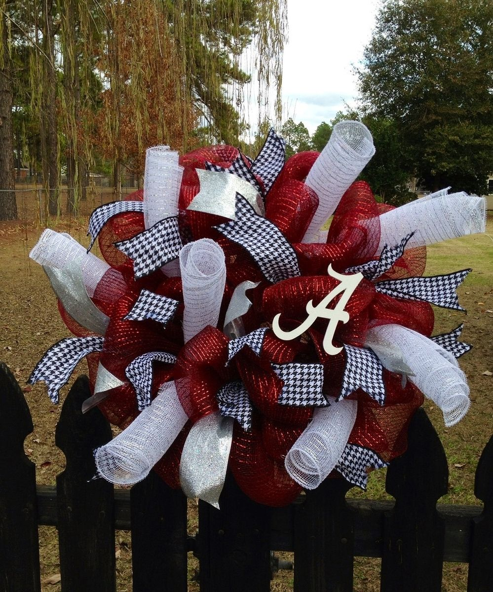 Custom Made Alabama Wreath By Taz Creations Custommade Com