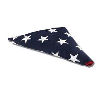 Custom Made Flag Shadow Box, Large Coffin Flag Display Case