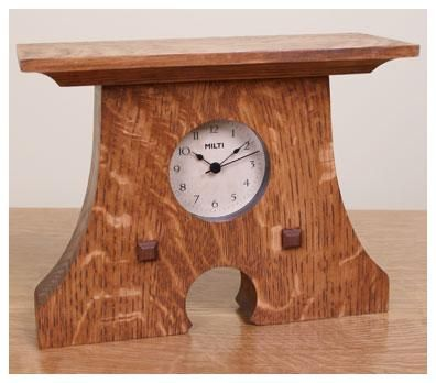 Custom Made Mouse Hole Clock