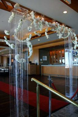 Custom Made Lucite / Acrylic Arch - Walkway - Great For Weddings Or Parties, Easy To Decorate, Rent It Locally!!