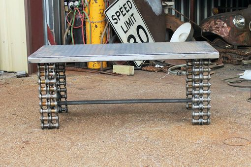 Custom Made Industrial Chic In Popular Styles Metal Coffee Table