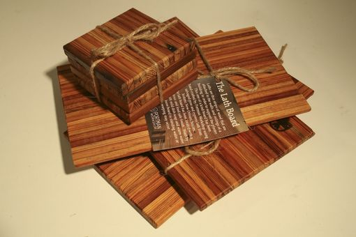 Custom Made Lath Coasters And Cutting Boards