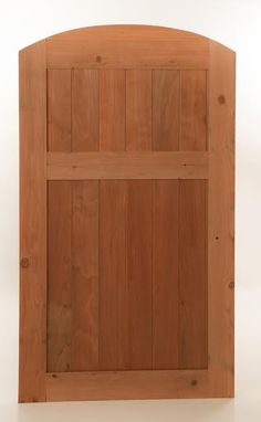 Custom Made Wood Cedar Gate
