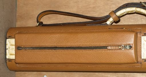 Custom Made Tl36bnyg - Leather Poolstick Case