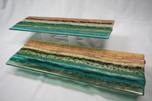 Custom Made Custom Fused Glass Panels-Small