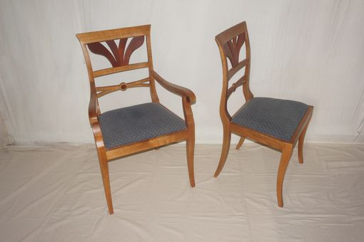 Custom Made Contemporary Chairs In The Biedermeir Style