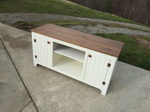 Custom Made Creamy Media Console