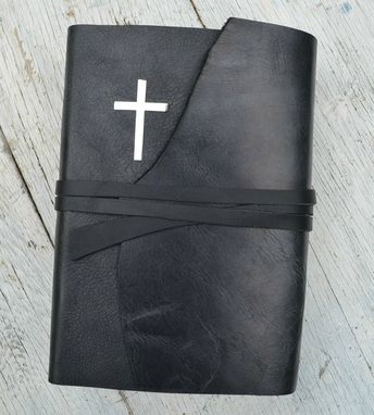 Custom Made Custom Hand Cut Leather Bible Covers Rebinding 401